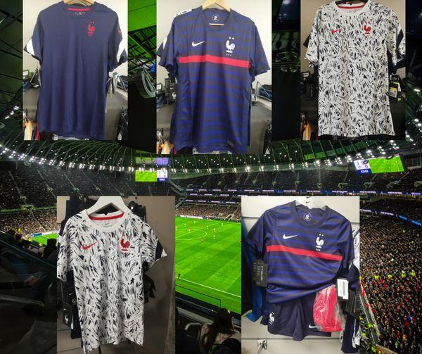 Les maillots de l'équipe de France de football sont là !